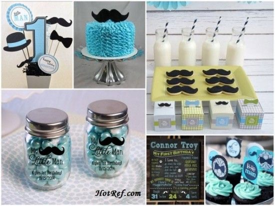 My Little Man Birthday Party Ideas Or Baby Shower Ideas And My Little Man  Party Favors