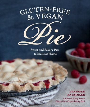 """Dig into this delicious collection of more than 55 gluten-free and   vegan pie recipes that rival in taste any """"regular"""" pie out there. Home-baked pie, fresh from the oven, is practically an American tradition. Who doesn't love it? But baking your favorite pies without dairy, eggs, gluten, or animal products calls for a different approach to both fillings and dough. Here you'll find techniques and tips for mixing and working with dough that doesn't contain butter or lard, and for ..."""