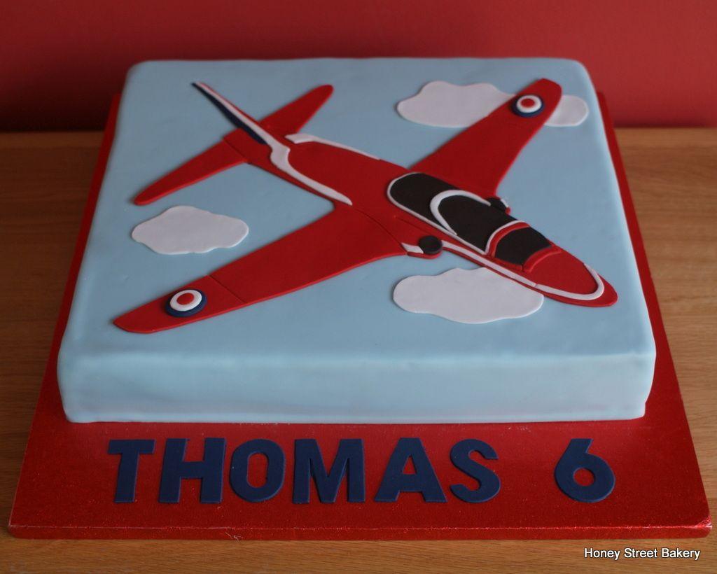 Red Arrows Birthday Cake Honey Street Bakery Pinterest Cake