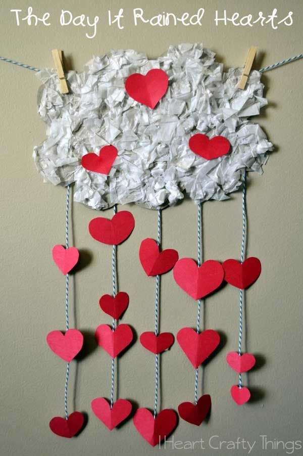 30 Exciting And Easy Diy Valentines Day Crafts Kids Can Make Dream