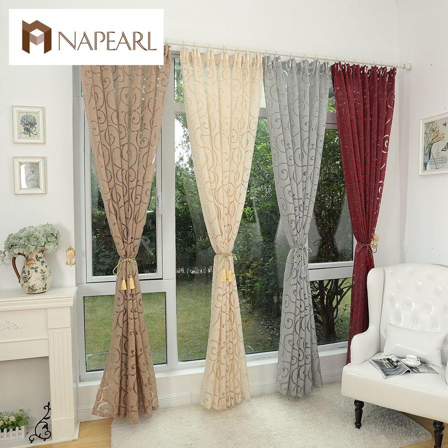 lujo moderno vestido cortinas baratas cortinas modernas cortinas de la sala de comedor comedores casuales de la ventana estilos de la