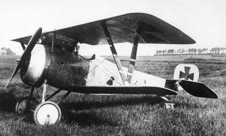 b293800e7ce1 Nieuport17 n° 1930 à moteur Clerget Les Allemands ont transféré l avion à