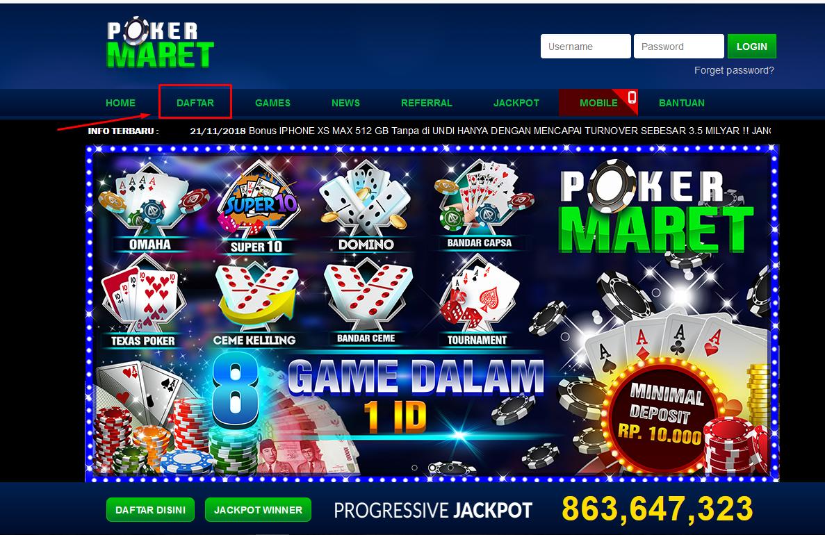 Pin di PokerMaret.com Agen resmi Dewa Poker88