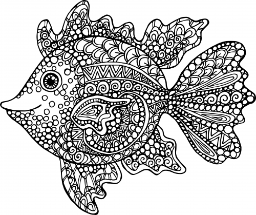 Exotic Fish Coloring Page | Exotic fish, Aquariums and Free printable