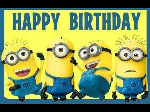 Buon Compleanno Dai Minions Tirapiedi Buon Compleanno