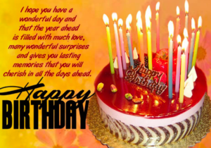 Birthday Wishes For Your Facebook Status Images And Quotes