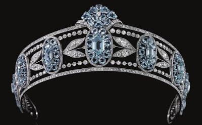 The Royal Order of Sartorial Splendor: Tiara Thursday: The Hesketh Aquamarine…