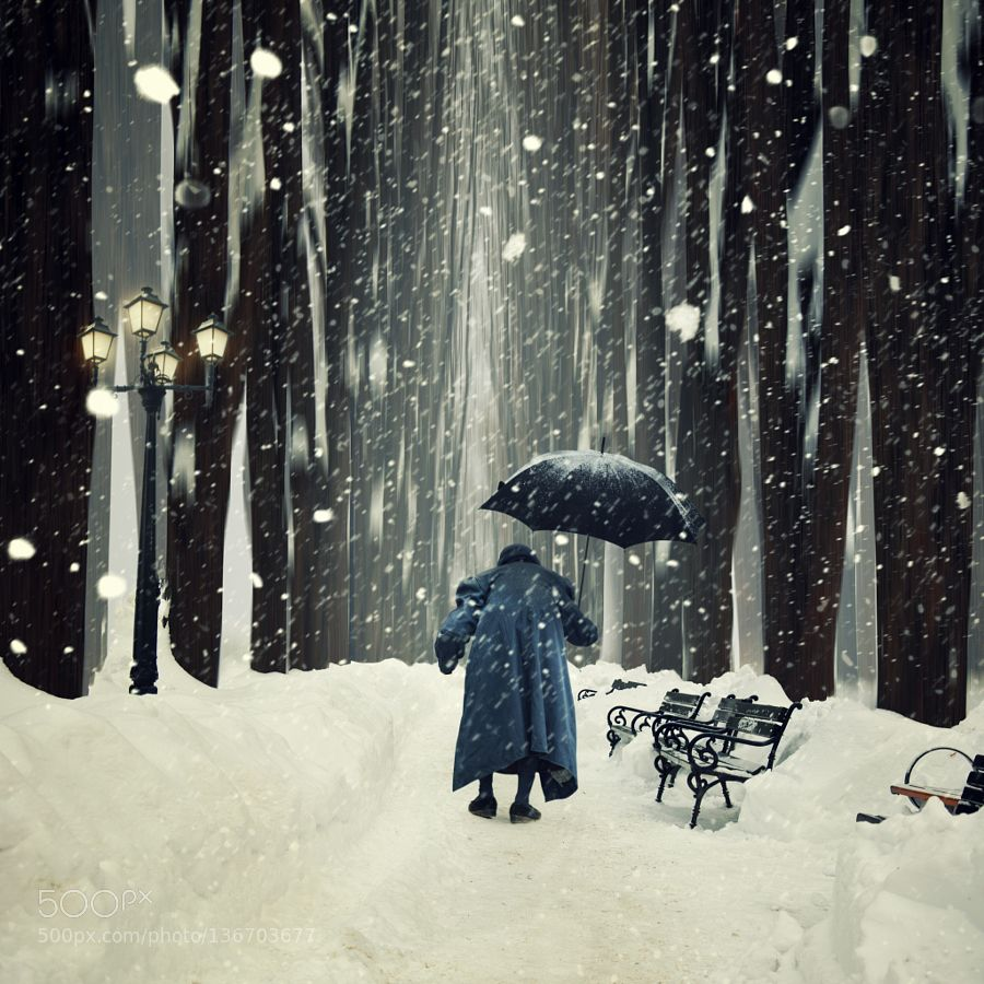 Another magic winter story by carasionut. @go4fotos