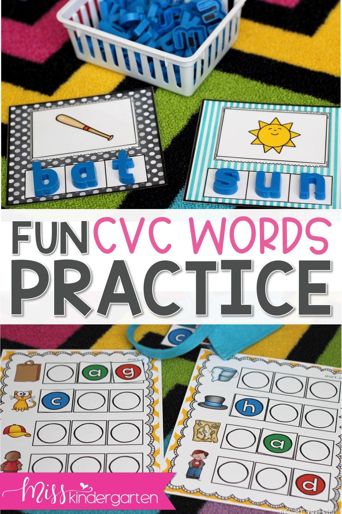 Fun And Engaging Cvc Activities For Your Kindergarten