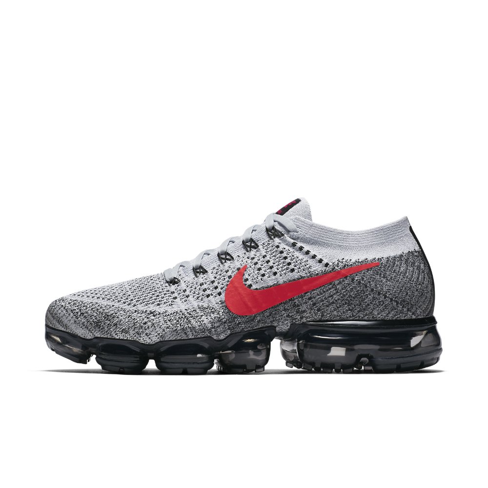 Nike Air VaporMax Flyknit Men's Running Shoe Size 10.5 (Grey