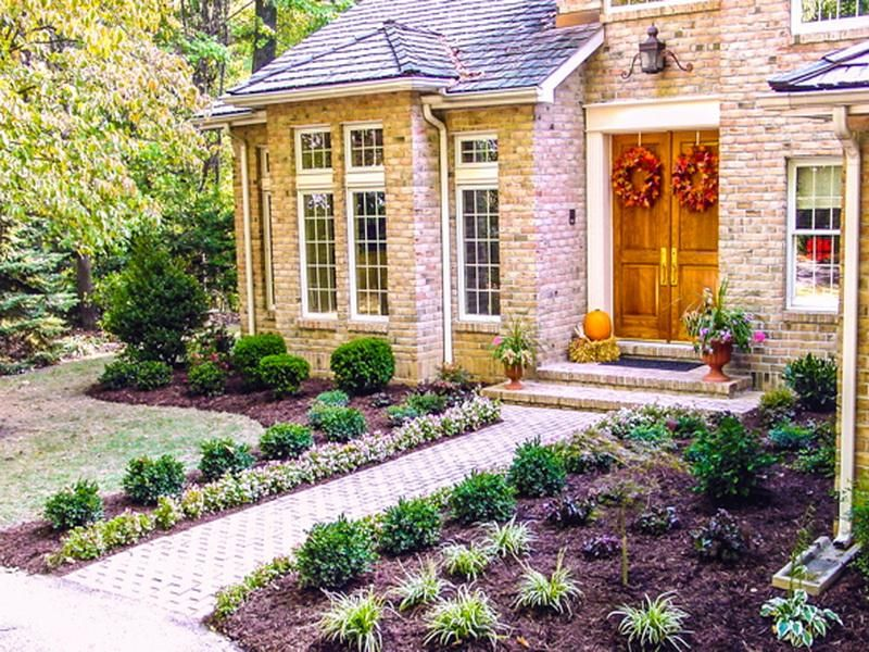 Delightful Great Front Yard Landscaping Ideas Part - 9: Modern Front Yard Landscape Design #CurbAppealContest