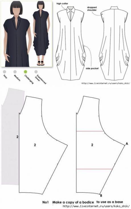 Patrones Kleider De FormenSchnittmuster CosturaCostura Irene b6gvfyYI7