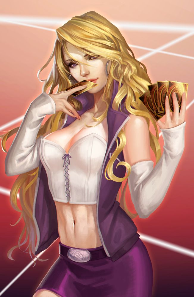 yugioh naked female characters