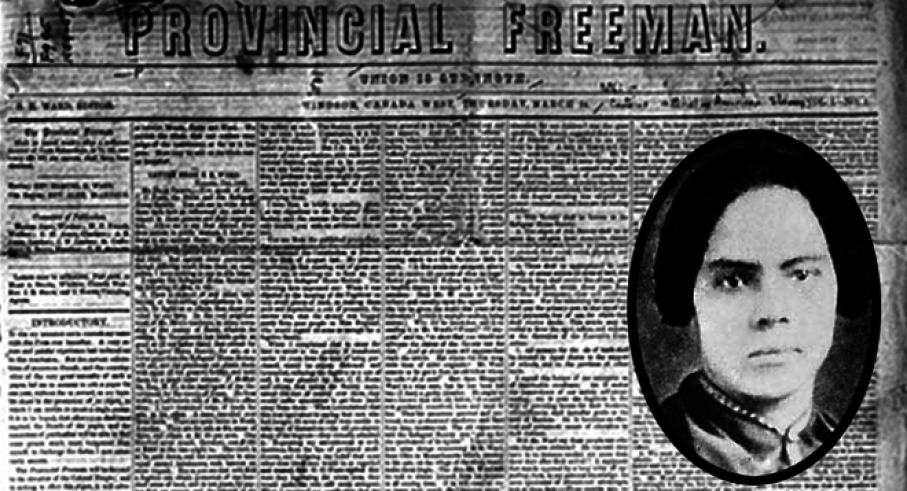 Mary Ann Shadd Cary, First Black Woman Newspaper Publisher in ...
