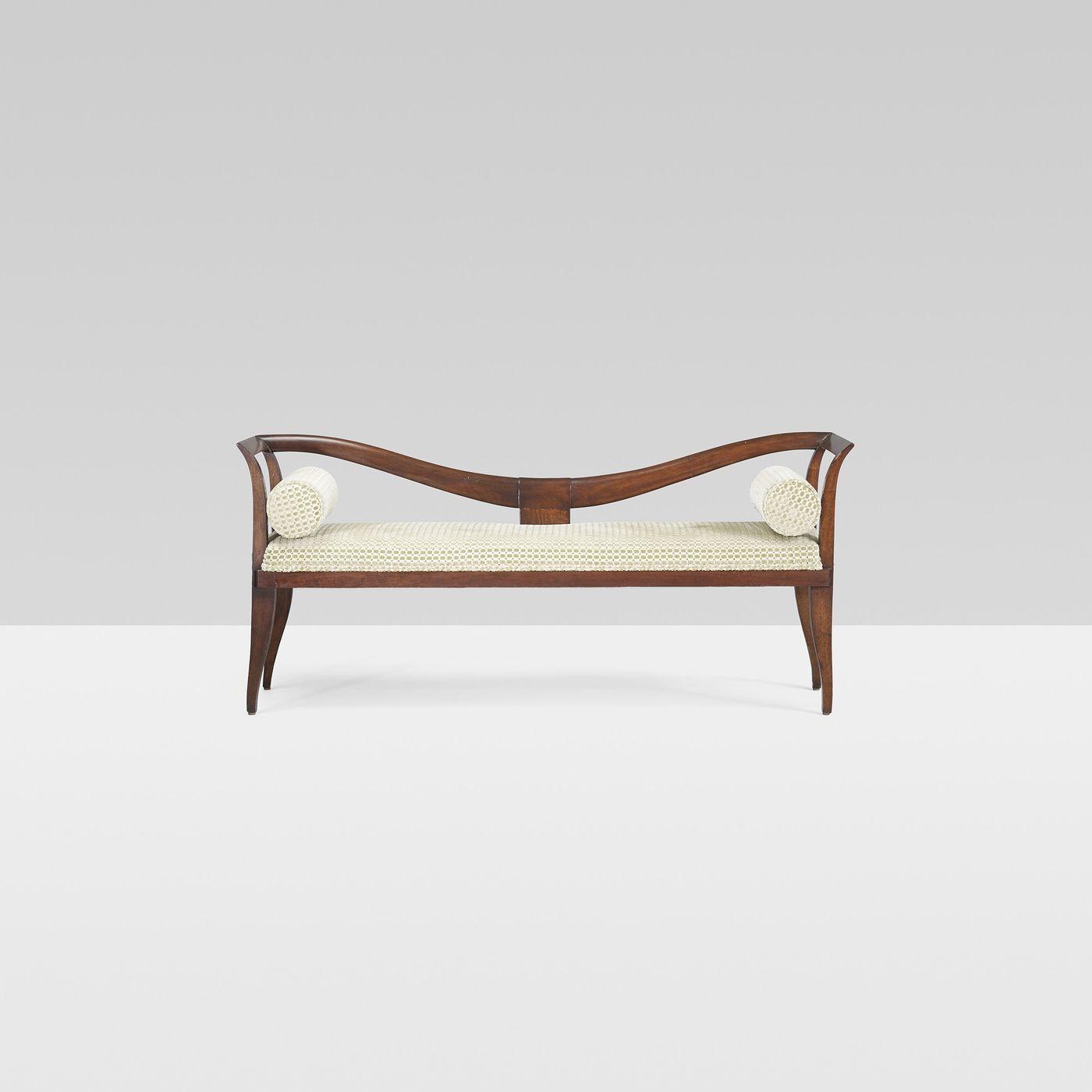Wright Emilio Lancia Bench Wooden Sofa Designs Bench Furniture Furniture Design