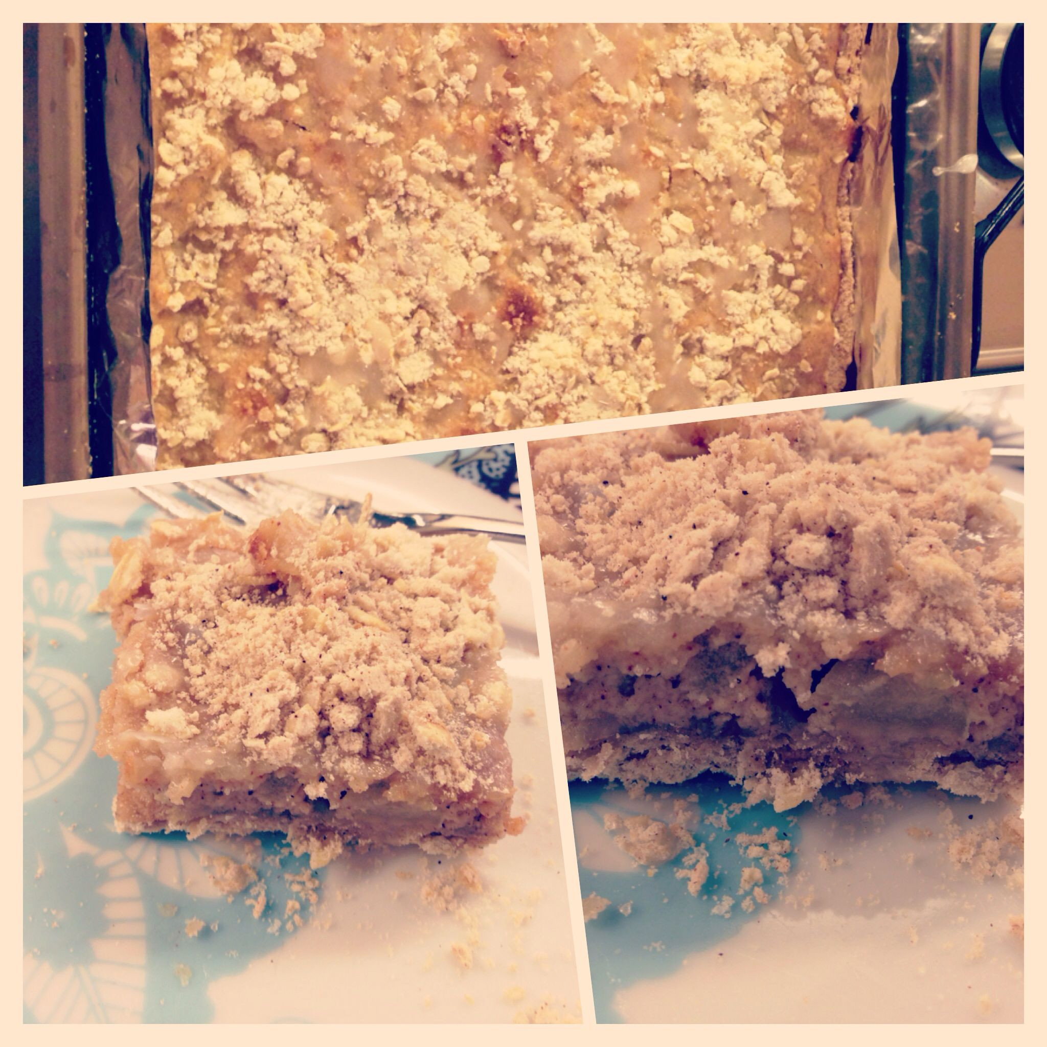 Apple Cinnamon Strudel Bars | My home made bakes | Pinterest