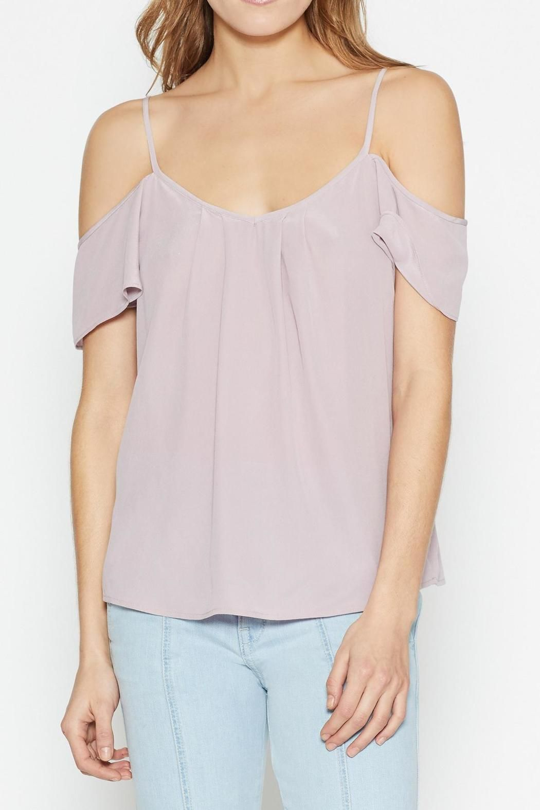 6cfabedab4592 The Adorlee Top by Joie features a scoop neckline