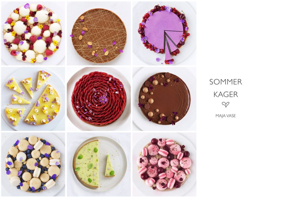 free ebook with the most amazing looking sommer cakes!