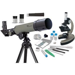 Educational Insights GeoSafari Telescope and Microscope Set