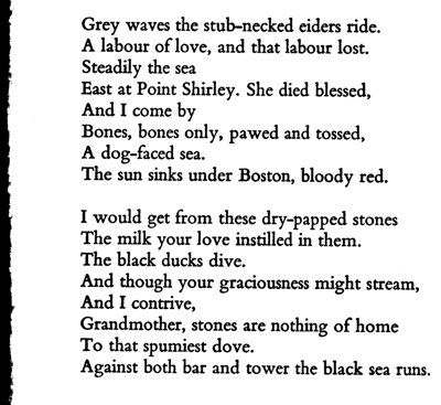 an analysis of point shirley a poem by sylvia plath The deer island prison is mentioned in sylvia plath's poem point shirley [citation needed] in his book a short history of nearly everything, bill.