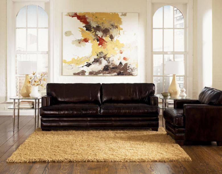Surprising Truffle Leather Sofa Set Leather Furniture Bari Leather Pabps2019 Chair Design Images Pabps2019Com