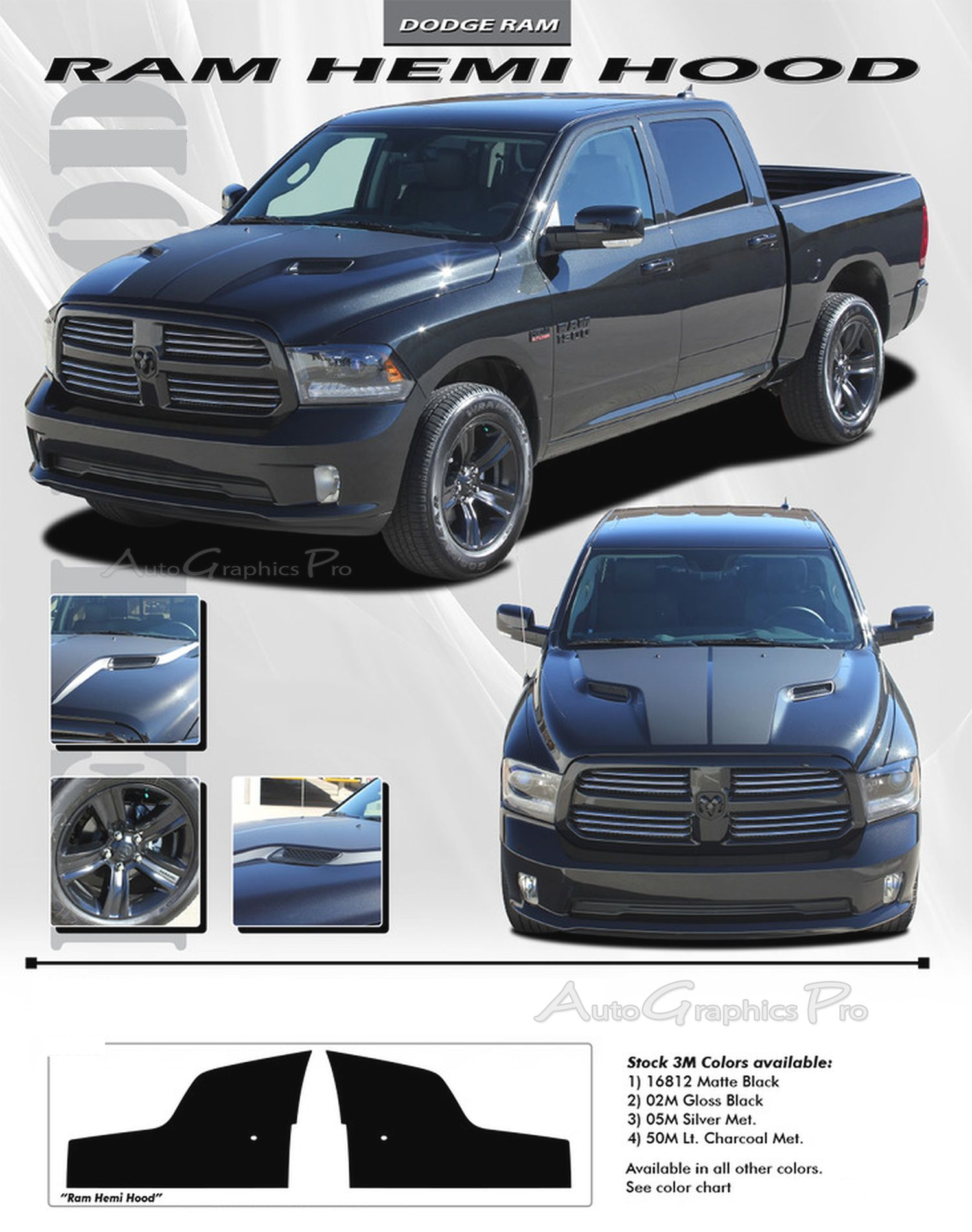 Vinyl Graphic Stripes Decals Kits Vehicle Specific Accent Striping - Truck bed decals custombody graphicsdodge ram