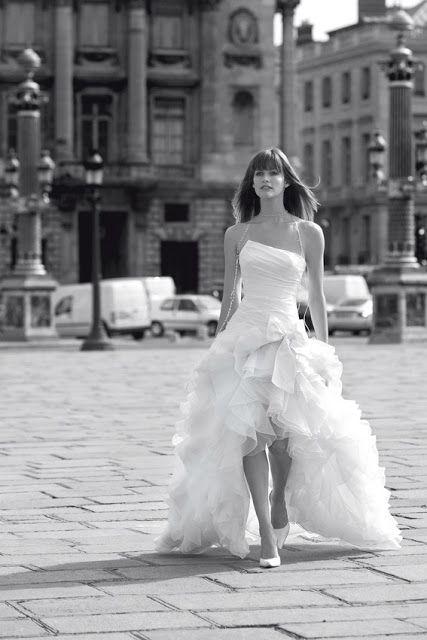 Robe de mariee courte et longue
