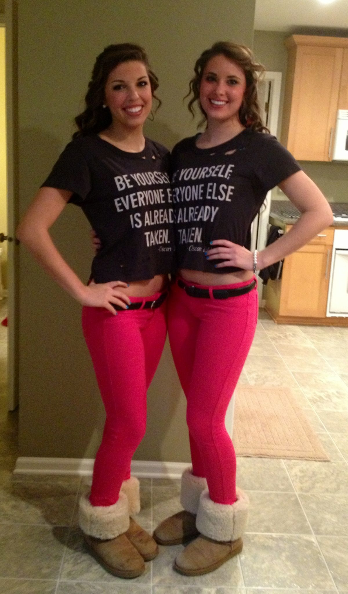 Best friend Twins 3 funny Halloween costumes