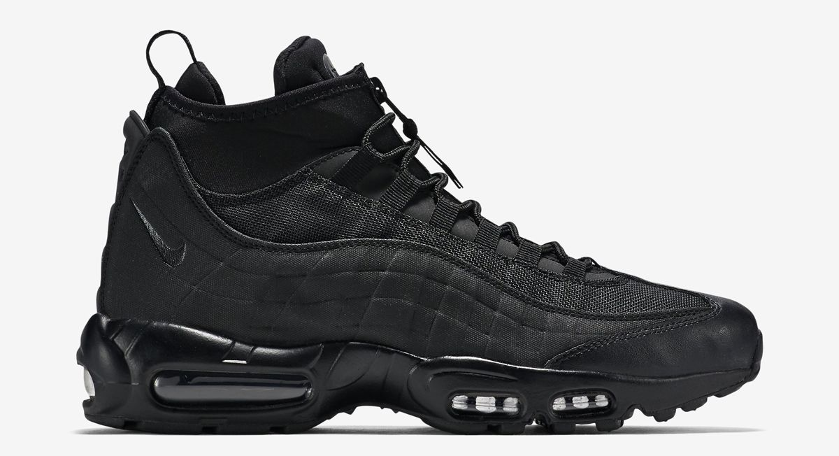 nike air max sneaker boot blackout blinds