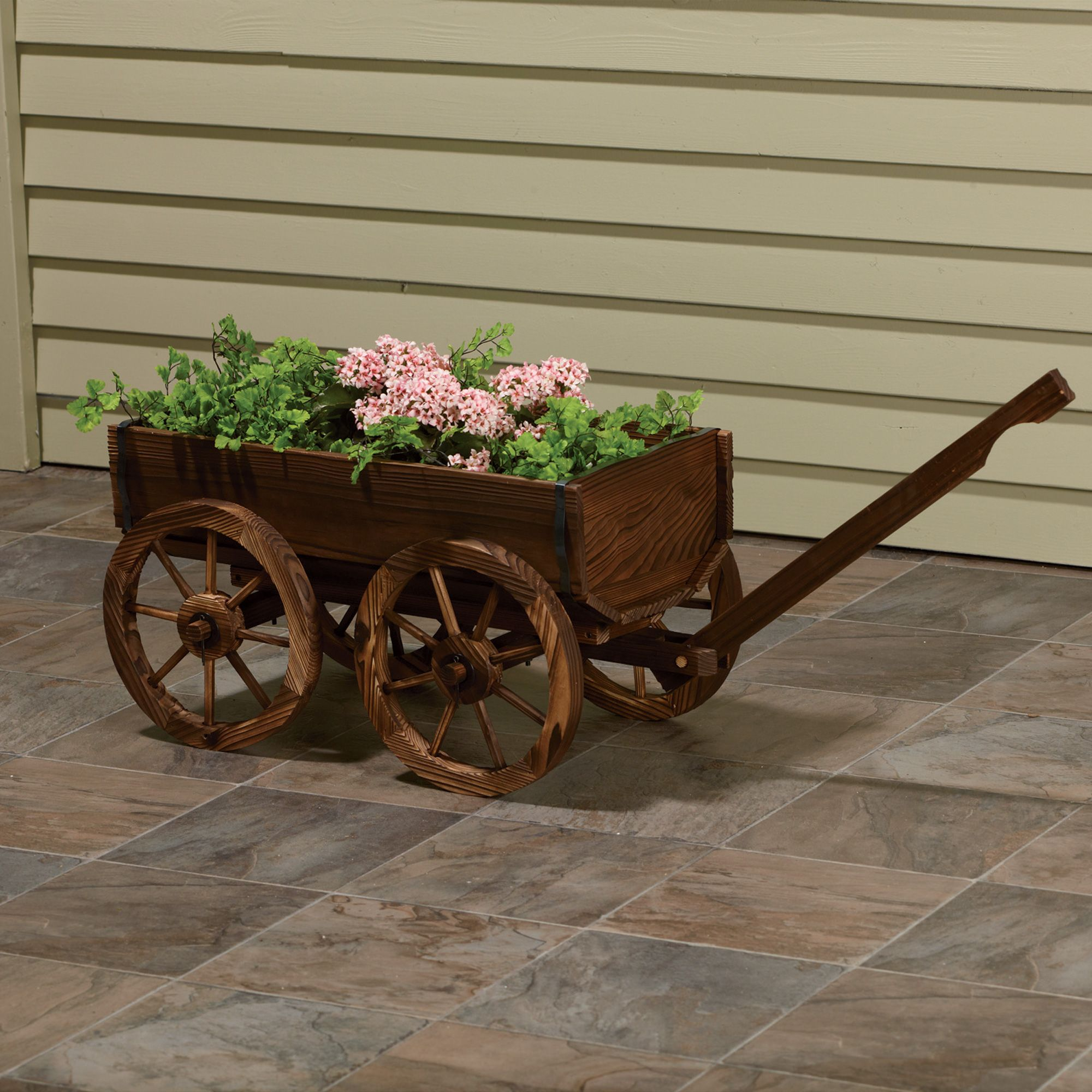 Wooden Planter Wagon Www Kotulas Free Shipping