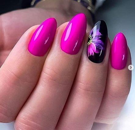 Нетипичный Маникюр | Дизайнерские ногти, Розовые ногти ...