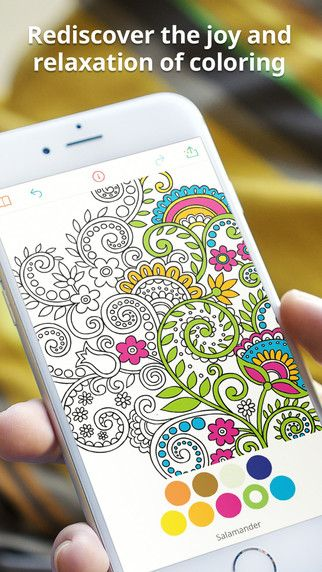 Recolor - Coloring Book For Adults on the App Store