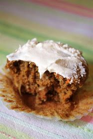 Kitchen Grrrls.: Vegan Coconut Carrot Cupcakes with Vanilla Buttercream Frosting