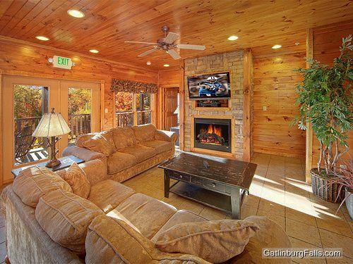 Gatlinburg Cabin - Waterfall Lodge - 7 Bedroom | Settings ...