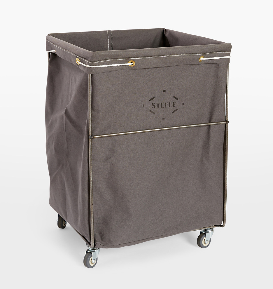Steele Canvas Hamper With Removable Liner
