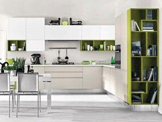 Wooden Fitted Kitchen Without Handles Linda Fitted Kitchen Arredo Interni Cucina Arredamento Sala E Cucina Interni Della Cucina