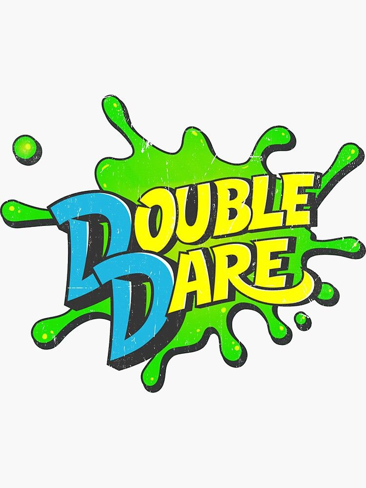 Double Dare Sticker By Dongshuren Double Dare Kids Choice Sports Nickelodeon Game Shows