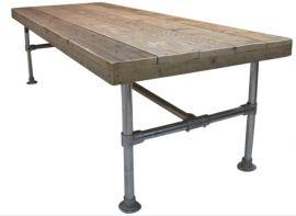 Steigerbuis Tafel Onderstel : Omschrijvingdeze tafel is gemaakt van gebruikt of nieuw