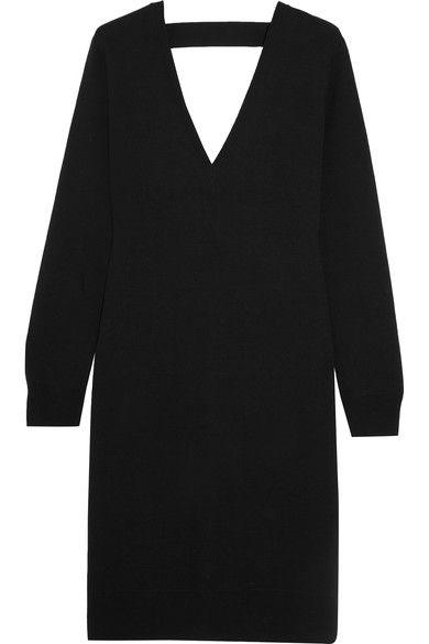 Proenza Schouler Woman Cutout Merino Wool-blend Dress Black Size M Proenza Schouler qyn4dFb