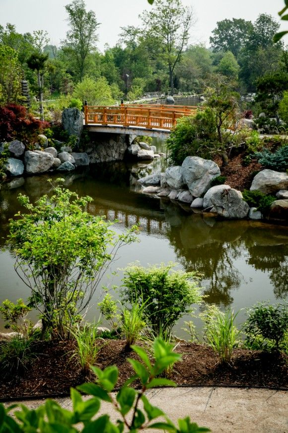 The new Japanese Garden at Frederik Meijer Gardens & Sculpture Park ...