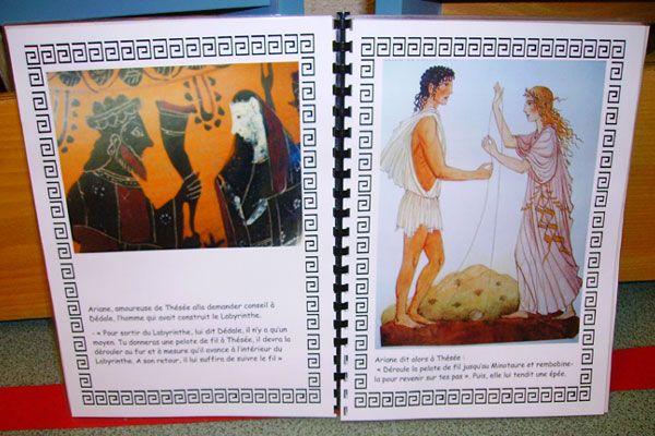 Le Minotaure Petite Section Enfants Matieres D Ecole Net Le Minotaure Petite Section Mythologie Grecque