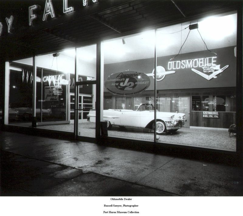 1950u0027S Oldsmobile / Cadillac Dealership