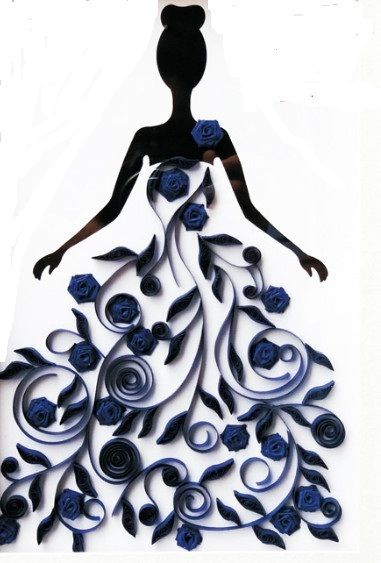 Buy wedding decoration home decor for Decoration quilling