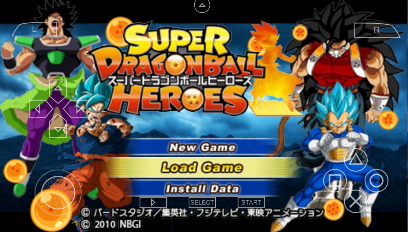 NEW SUPER DRAGON BALL HEROES DBZ TTT MOD Dragon ball