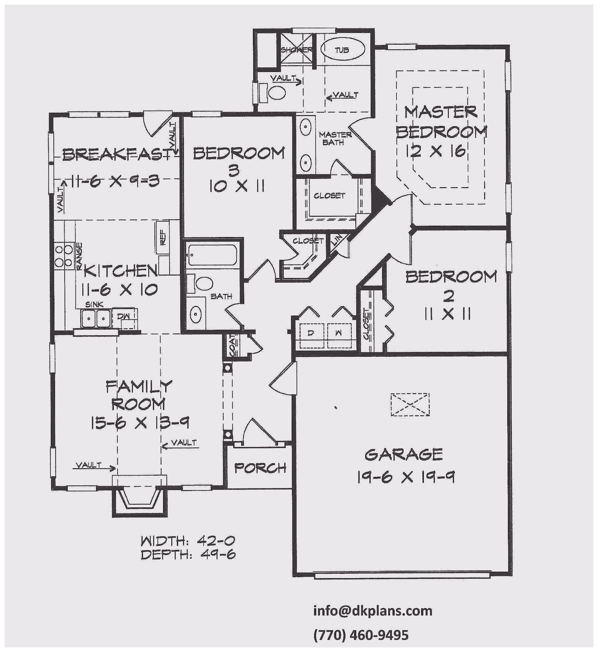 New Home Plans Of Homeplans