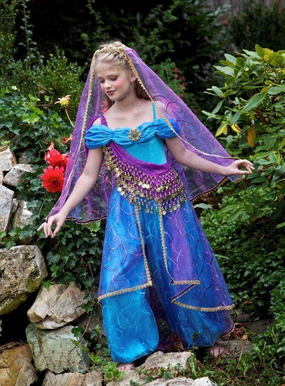 Homemade Princess Jasmine Costume Ideas  sc 1 st  Pinterest & Homemade Princess Jasmine Costume Ideas | sewing | Pinterest ...