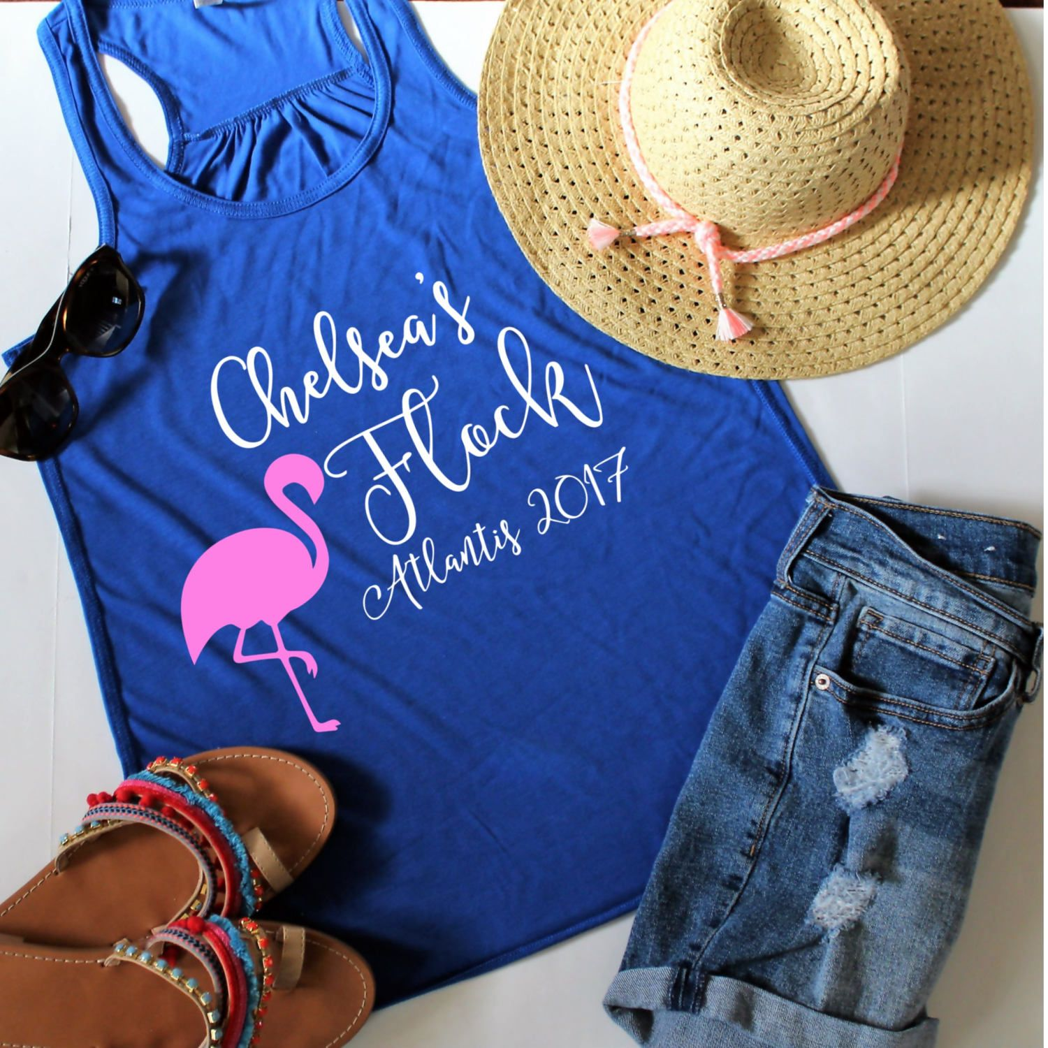 How to Plan the Best Flamingo Bachelorette Party Ever | Emmaline Bride