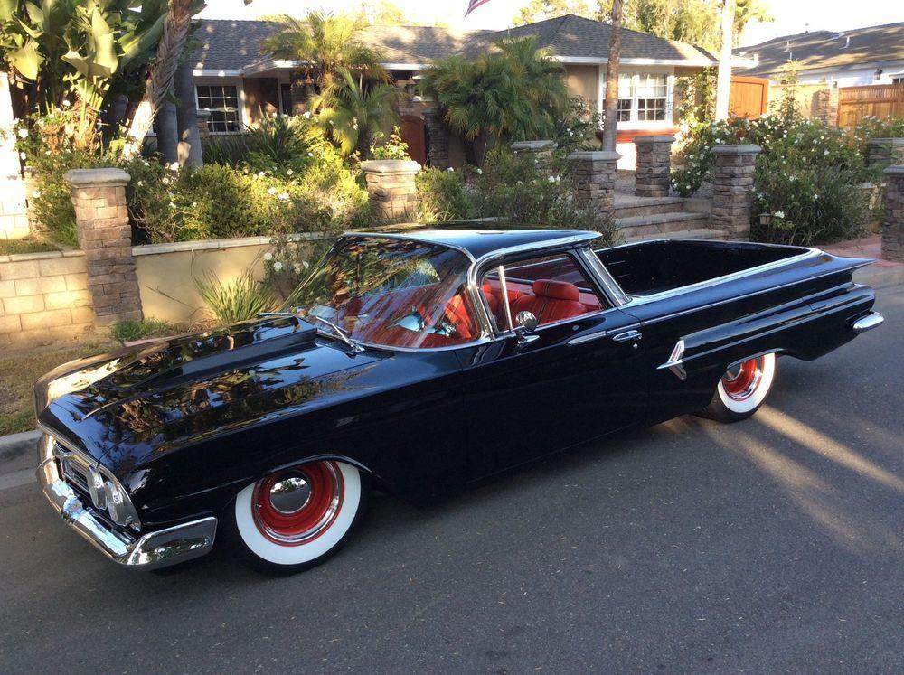 1960 Chevrolet El Camino Chevrolet El Camino Pro Touring Hot Rods