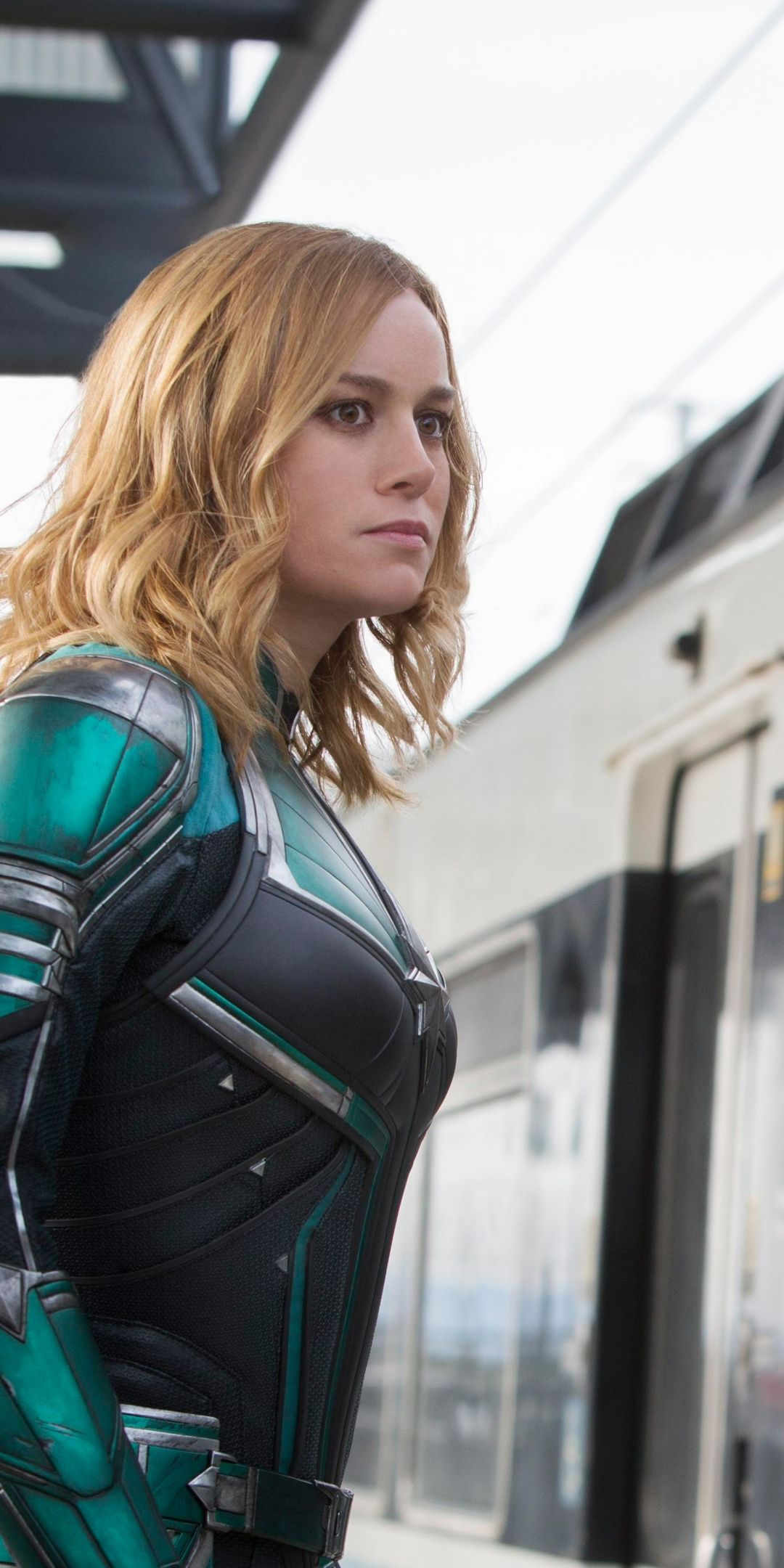 Blonde Character Inspiration: Captain Marvel, Movie, Brie Larson, Actress, Blonde