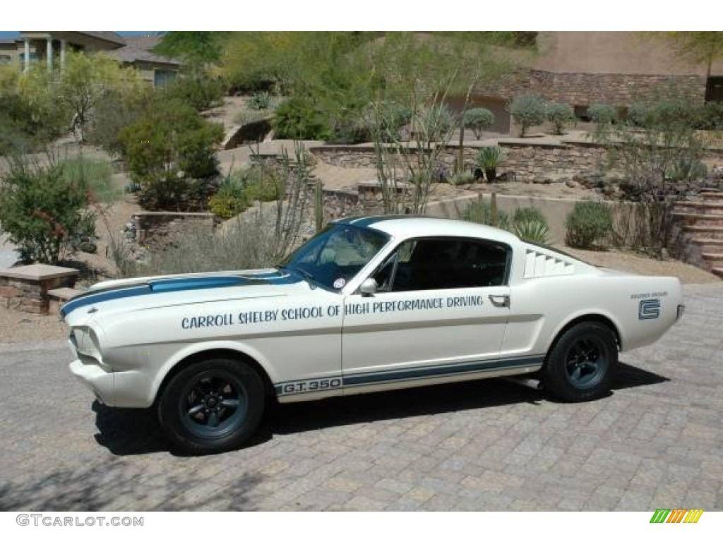 1965 Mustang Shelby Gt350 Recreation Wimbledon White Blue